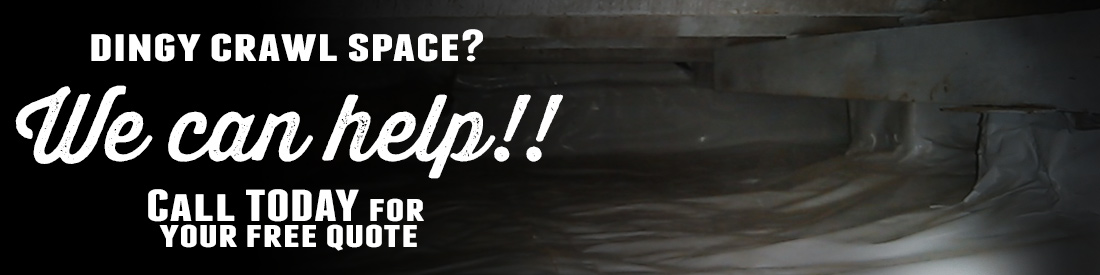 Crawl Space cleaning, finishing, and refurbishing