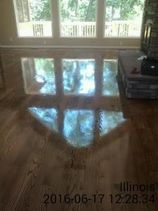 wood floor lake after2